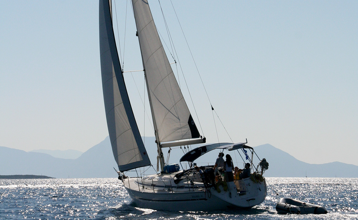 We do sailing extensively all the Ionian islands and Ionian sea.