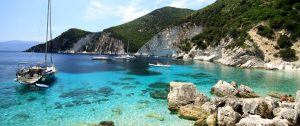 Ionian emerald waters