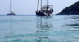 Ionian yachts, Atokos island Greece