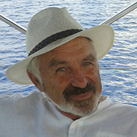 Nikos Markou yacht skipper, who knows perfectly the Ionian Islands.