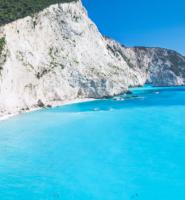 Beautiful Porto Katsiki beach, Lefkada, Greece